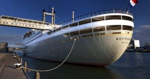 Photos of the SS Rotterdam in Rotterdam, Netherlands by Elan Fleisher / elanhotelpix.com